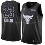 Maillot NBA Pas Cher Chicago Bulls Michael Jordan 23# Black 2018 All Star Game Swingman..